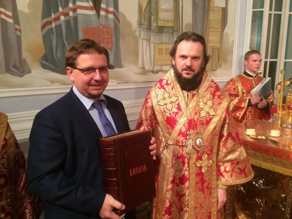 директор Центра изучения христианских реликвий при РПУ им. Иоанна Богослова Михаил Артеев