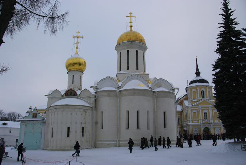 Троицкий собор в Троице-Сергиевой Лавре