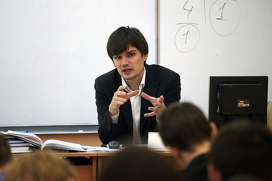 «Учитель года-2013» Андрей Сиденко