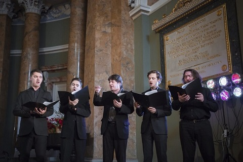 Вокальный ансамбль Санкт-Петербургской епархии